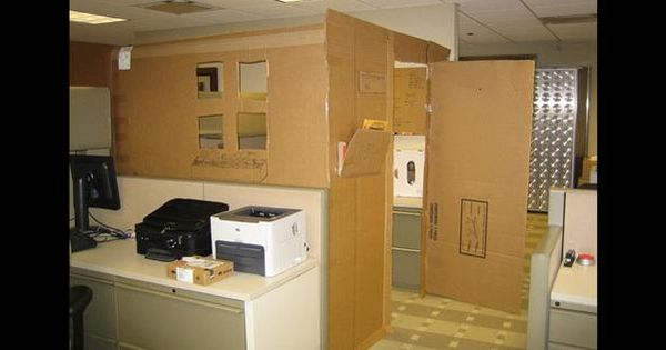 The office shape and office prank on pinterest