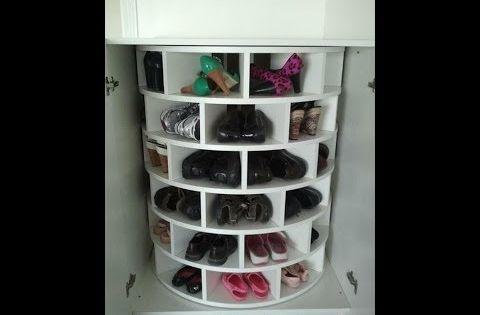 C mo hacer un estante con cajones de fruta youtube for Muebles para zapatos baratos