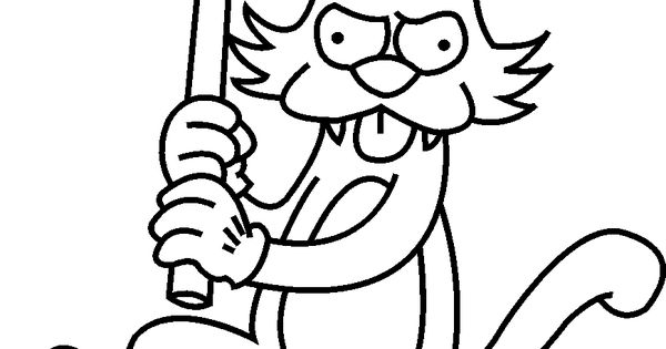 cartoon rockchuck coloring pages - photo#49