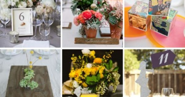 Get inspired by these wedding table number ideas. -pinned by wedding specialists