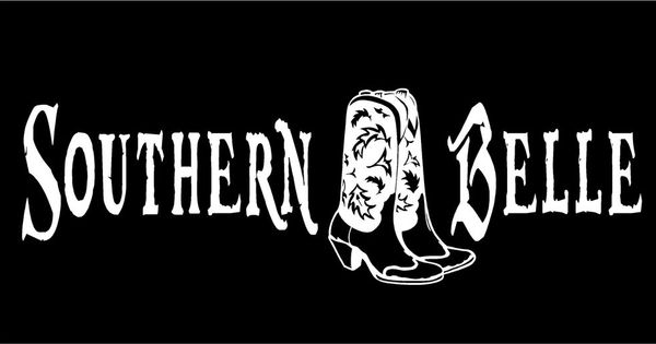 Details About Southern Belle Decal Cowgirl Cowboy Boots