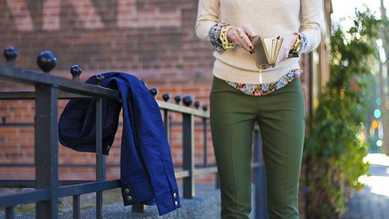 preppy floral layered business