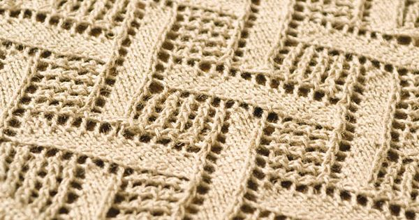 Free Knitting Patterns For Lace Curtains : Montague -- Free Berroco pattern. This diamond lace pattern creates a lovely ...