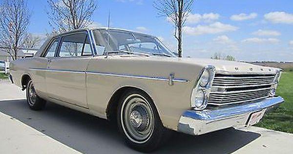1966 Ford Custom 500 2 Door Sedan 289 C I V8 3 Speed Galaxie Original Car Sedan Galaxie Hatchback Cars