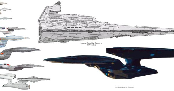 the enterprise compared to star destroyer size - Google ...