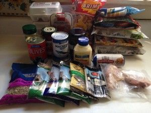 Budget Low Carb 25 Seven Day Three Meals Daily Dollar Tree Menu