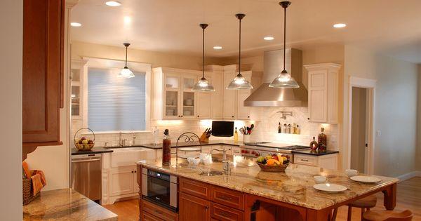 Kitchen Sinks Denver : Sink Island White Cabinets Kitchen Cabinets in Denver Kitchen Denver ...
