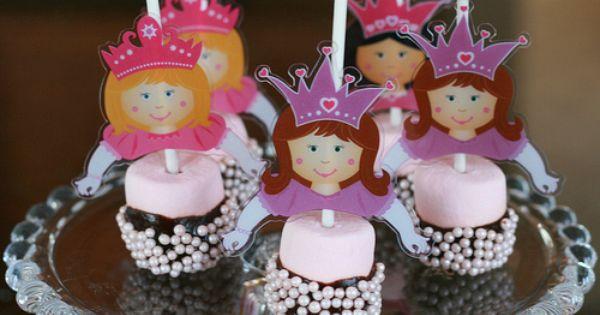 Fairy Princess Marshmallow Pops