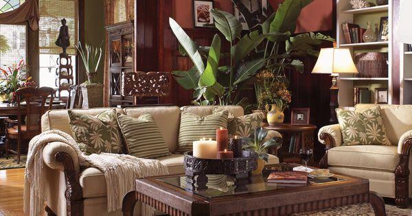 Tommy bahama home benoa harbour living room set home pinterest