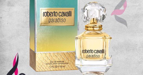 Roberto Cavalli Paradiso عطر زهري خشبي م نعش لـ النساء تتكون م قدمته من البرغموت واليوسفي والليمون الحامض وقلب العطر غ Perfume Bottles Perfume Bottle