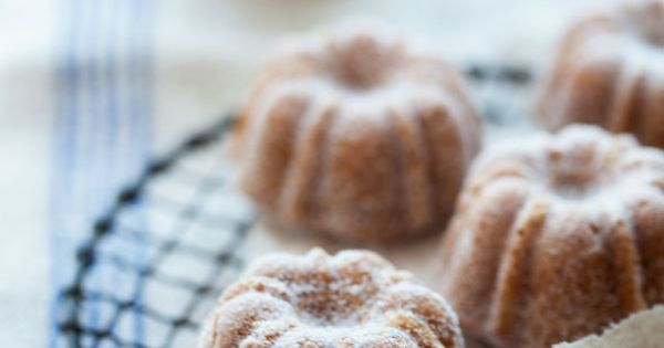Pear, Hazelnut and Brown Butter Cakes | Beautiful Food & Drink ...