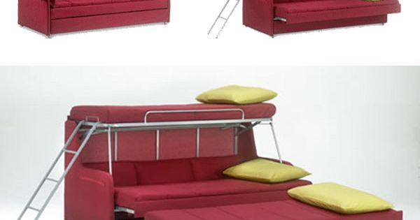 Folding beds small spaces : Space saving fold down beds for small spaces furniture