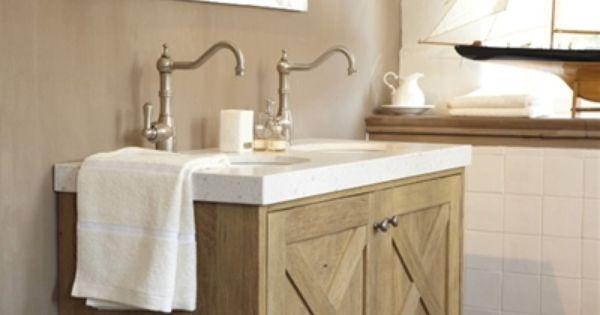 Badkamermeubel landelijke stijl google zoeken landelijke badkamers pinterest - Badkamers bassin italiaanse design ...