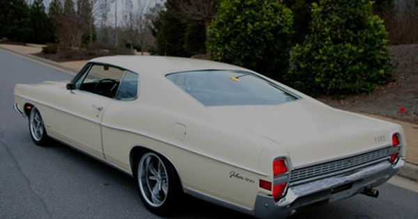 Pro Touring Ford Galaxie 1968 Ford Galaxie 500 Fastback 390 V8
