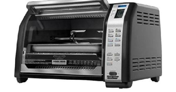 Decker CTO7100B Toast-R-Oven Digital Rotisserie Convection Oven Black ...