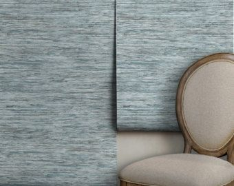 Faux Grasscloth Easy To Apply Removable Peel N Stick Etsy Grasscloth Removable Wallpaper Wall Waterproofing