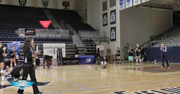 Rolled Ball Hustle Drill With Genny Volpe Coaching Volleyball Volleyball Volleyball Drills