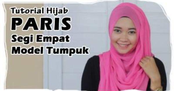 Square hijab tutorial, Hijabs and Hijab tutorial on Pinterest