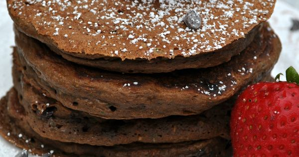 Chocolate pancakes, Healthy chocolate and Pancakes on Pinterest