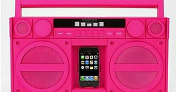 iHome iPod Docking System in hot pink.. This will be mine!!