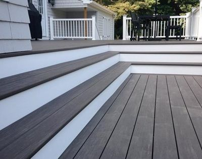 Decking Is The Gorgeous Azek Vintage Collection Decking In