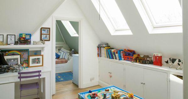 Bekijk onze tips voor het inrichten van een zolder als kinderkamer 10 tips om een leuke - Uitbreiding van de zolder ...