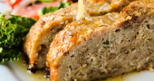1770 House Meatloaf with Garlic Sauce | Recipe | Garlic, Best Meatloaf ...