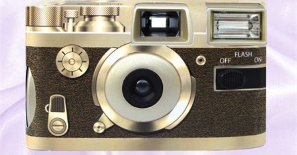The Forever Memories Retro Gold Disposable Camera Is Perfect For Your Day Or Night Wedding And The Camera Can B Wedding Camera Disposable Cameras Retro Wedding