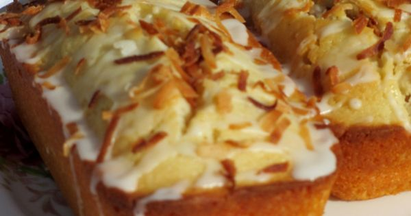 Coconut cream, Sweet bread and Coconut on Pinterest