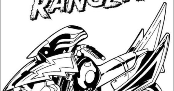 classic power rangers coloring pages - photo#48