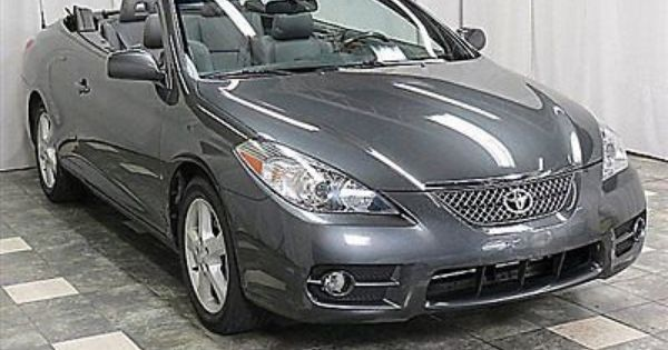 2008 Toyota Camry Solara Sle Only 36k Heated Leather Loaded Runs Great Used Toyota Solara For Sale In Chesterla Toyota Solara Convertible Toyota Solara Camry