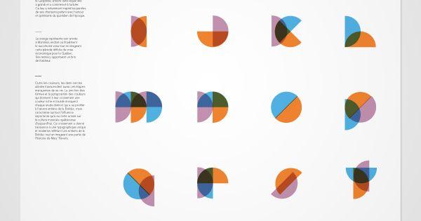 Geo Alphabet. typography font type