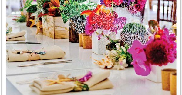 elegant caribbean party decorations - Google Search