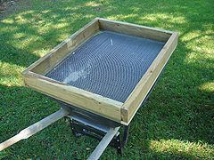 Building A Soil Sifter Screen To Remove Rocks Stones And Chunks From Dirt And Compost Soil Creative Gardening Compost Tumbler