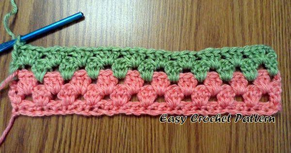 Easy Crochet Striped Afghan Patterns Pakbit For