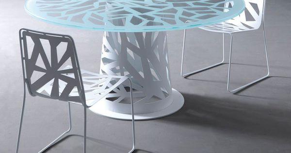 ROUND TABLE DOMINO COLLECTION :: ESEDRA BY PROSPETTIVE  DESIGN FABRIZIO BATONI  1 ...