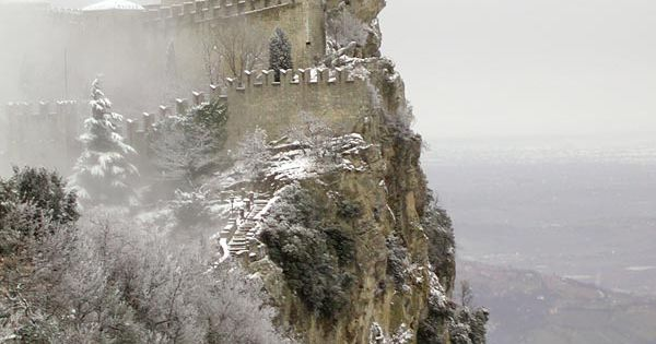 "San Marino Castle, San Marino. I've seen many castles listed as ""the"