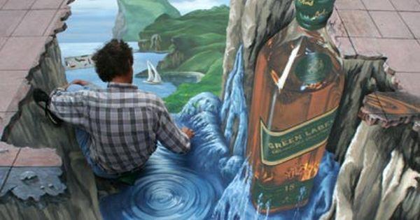 street chalk art | 50 Absolutely Stunning 3D Street Art (Paintings)
