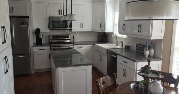 White Kitchen By Maranatha Construction Shorewood Il Kitchen White Kitchen Shorewood