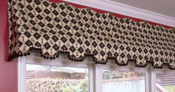 Erin Curtain Valance Sewing Pattern Curtains Awnings
