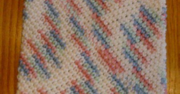 Easy To Crochet Potholders Over 25 Patterns : double layer potholder Crochet Pinterest Potholders ...
