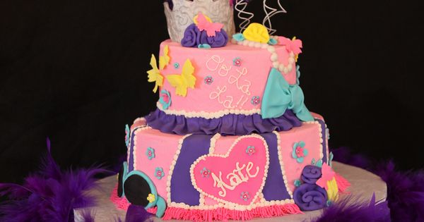 Imags Of Birthday Cake For  Girl