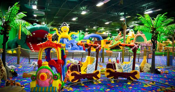 Coocoos where kids can come have a crazy fun time for Ball pits near me