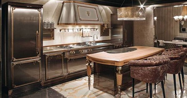 Visionnaire collection by ipe cavalli kitchens for Kitchen design 43055