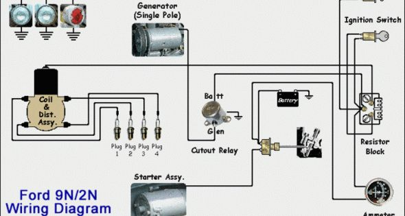 8n Wiring Schematic 8n Ford Tractor Ford Tractors Tractor Photos