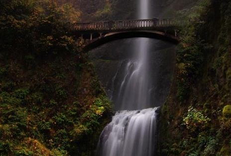 Multnomah Falls – Portland, Oregon...road trip destination while driving up the west
