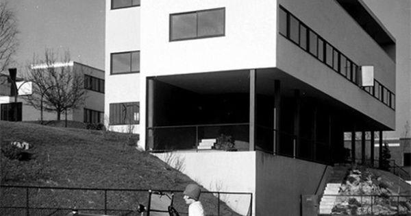 das doppelhaus von le corbusier einem der einflussreichsten architekten des 20 jahrhunderts. Black Bedroom Furniture Sets. Home Design Ideas