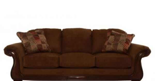 Ash 3830038 Ashley Montgomery Mocha Sofa Mathis