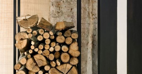 holzaufbewahrung wohnzimmer essbereich pinterest holzaufbewahrung holzlager und. Black Bedroom Furniture Sets. Home Design Ideas