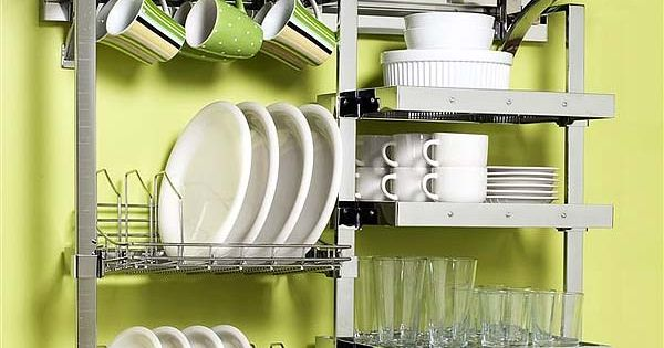 Small space dish rack